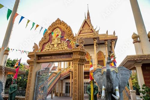 Preah Puth Mean Bon, a buddhist temple of Phnom Penh, Cambodia