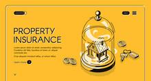 Property Insurance Isometric L...