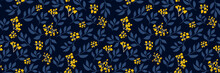 Floral Seamless Pattern With S...