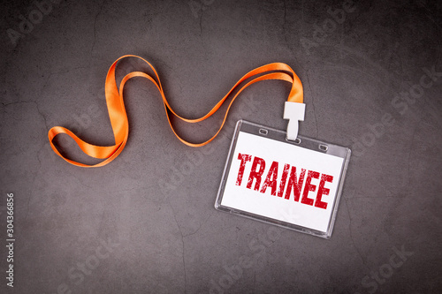 Cuadros en Lienzo Trainee. Training, skills, practice and career concept