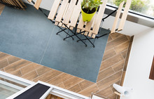 Tile Terrace Flooring In Moder...