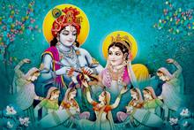 Indian Lord Beautiful Radha Kr...