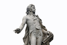 Statue Of Mozart In Vienna, Au...
