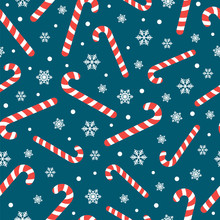 Seamless Pattern With Christma...