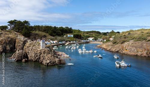 Fotografie, Obraz Le port de la Meule sur l'île d'Yeu (Vendée, France)