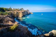 Pacific Ocean Southern California, At La Jolla In Southern California,San Diego, USA