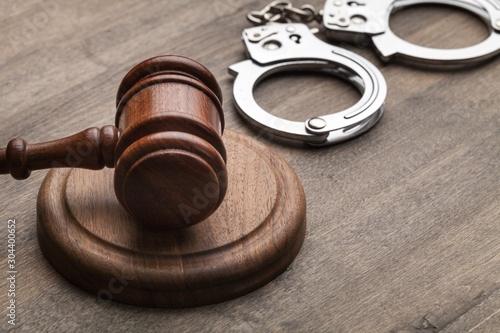 Arrest. Canvas Print