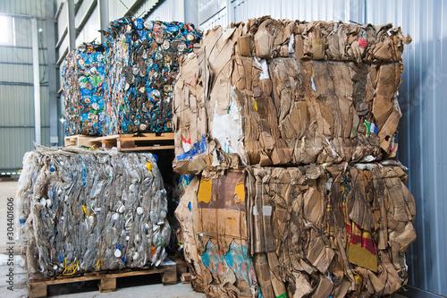 Fotografia, Obraz  Waste recycling factory