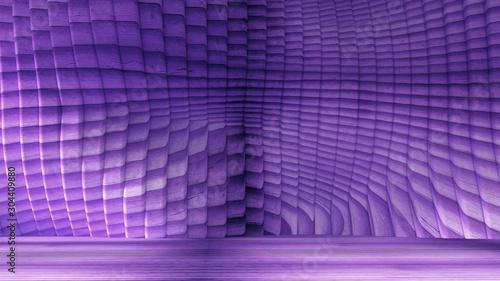 Texture background, grunge, industrial, interior. 3d illustration, 3d rendering. - 304409880