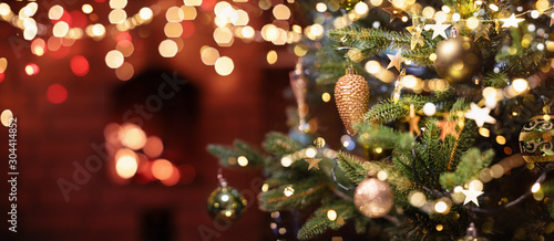 Cadres-photo bureau Pays d Asie Christmas Tree with Decorations