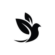 Dove Of Peace Bird Logo