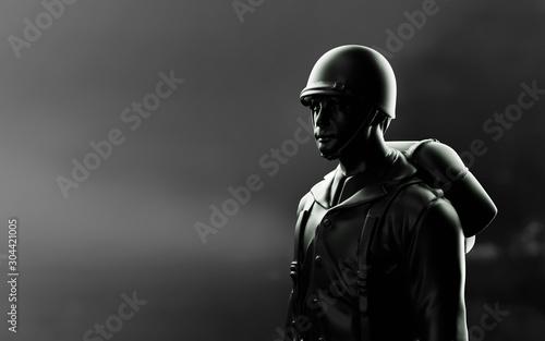 Fotografía  WW2 American Soldier. 3d render