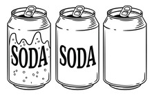 Vector Illustration Soda Can I...