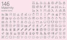 Maternity Outline Iconset