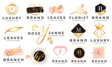 Feminine Logo Collections Temp...