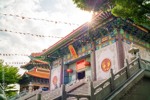 Photo  Wat Boromracha Kanchanapisek Anusorn Chinese architecture buddhism temple style