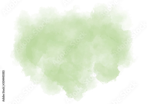 Pastel green background Canvas Print