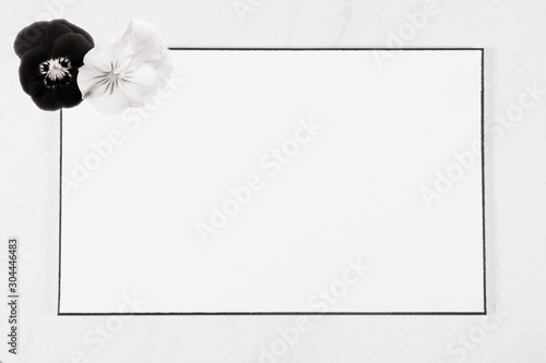 funeral Condolence card Wallpaper Mural