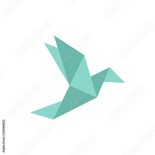 Obraz na plátně Origami bird