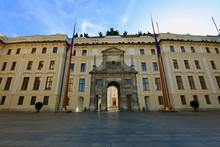 Facade Of Prague Castle