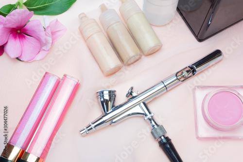 air brush makeup tool Wallpaper Mural