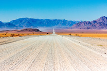 Gravel Road In Namibia - Panor...