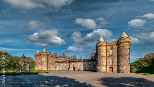 Palace of Holyrood House - The attractive city of Edinburgh - Scotland - United Kingdom