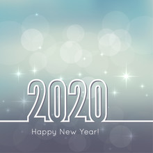 Happy New Year 2020. Abstract ...