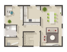 Detailed Floor Plan With Inter...
