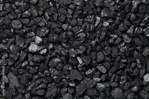 Foto Black Coal Background