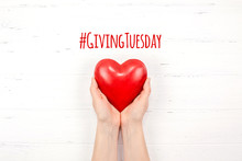 Giving Tuesday Concept With Re...