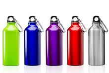 Set Of Camping Bottles