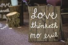 Closeup Shot Of A Wooden Sign ...