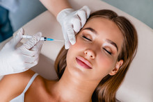 Young Woman Gets Beauty Facial...