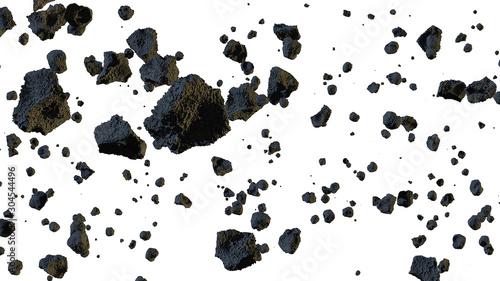 Meteorito asteroide roca - 304544496