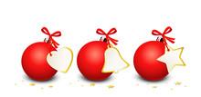 Weihnachtsbanner Rote Weihnach...