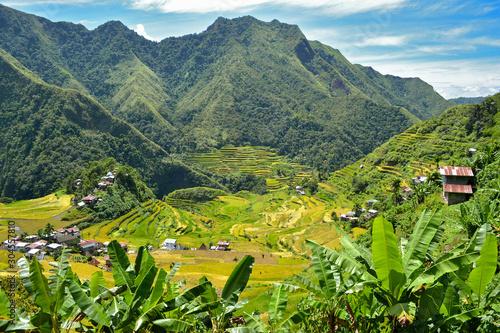 Fotografie, Obraz Rice terraces in Batad in Ifugao province, Luzon, world heritage