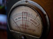 A An Old, Vintage Meter