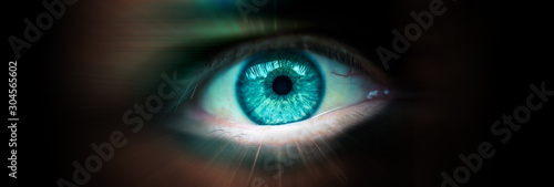 Photographie Future eye concept
