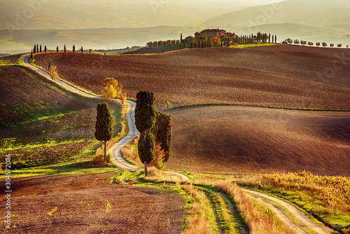 Obraz Droga gladiatora, Toskania, Włochy - fototapety do salonu