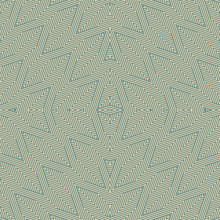Vector Abstract Geometric Lines Seamless Pattern In Teal And Tan Colors