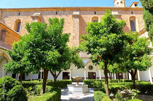 Fototapeta Interior of the Carthusian monastery church of the Assumption of Our Lady (Monasterio de la Cartuja) , Granada, Spain