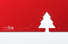 Red Background White Christmas Tree Sale White Snowflake On Red Background.xmas