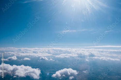 Obraz Amazing cloudscape illuminated by the sun - fototapety do salonu