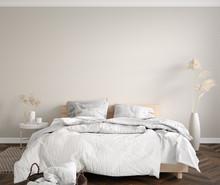 Scandinavian Bedroom Close Up,...