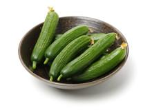 Lebanese Cucumber Isolated On ...