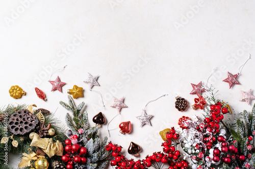 Fotografía  Traditional Christmas decorations