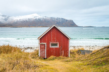 Traditional Nordic House In A Idyllic Place