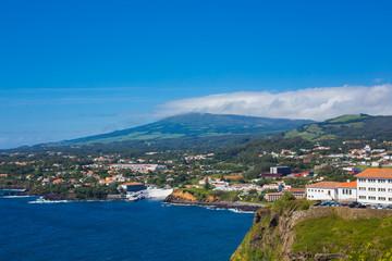 Angra do Heroismo, Terceira, Azores islands, Portugal.