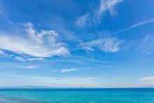 Beautiful Sunny Sea Landscape....